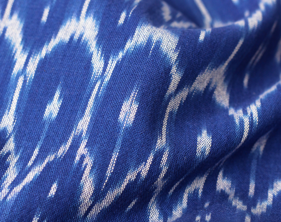 This stunning piece is what spurred the need to create this fabric round up, I mean, just look at it. Like the other pieces from the Indian collection, its printed on amazing homespun cotton using traditional methods.