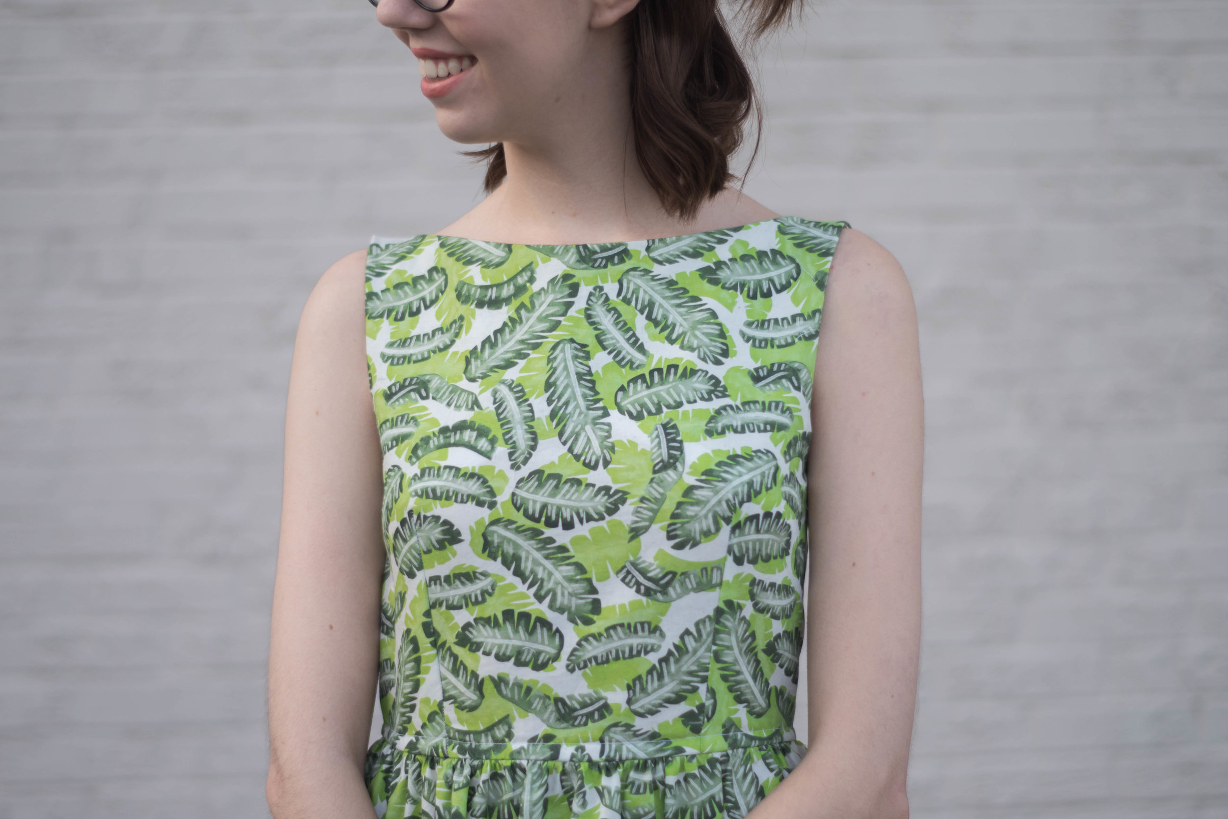 Considering adding a boatneck to your next sewing project? This tutorial will walk you through the steps of modifying a pattern you already have to do the trick! Don't have a pattern in mind? I have a great recommendation for a FREE dress pattern to get you started.
