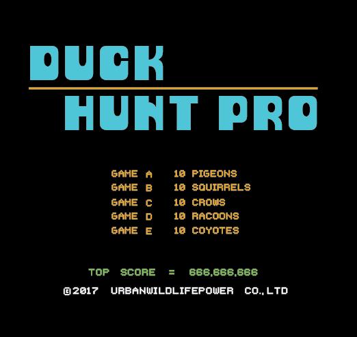 DUCK HUNT PRO