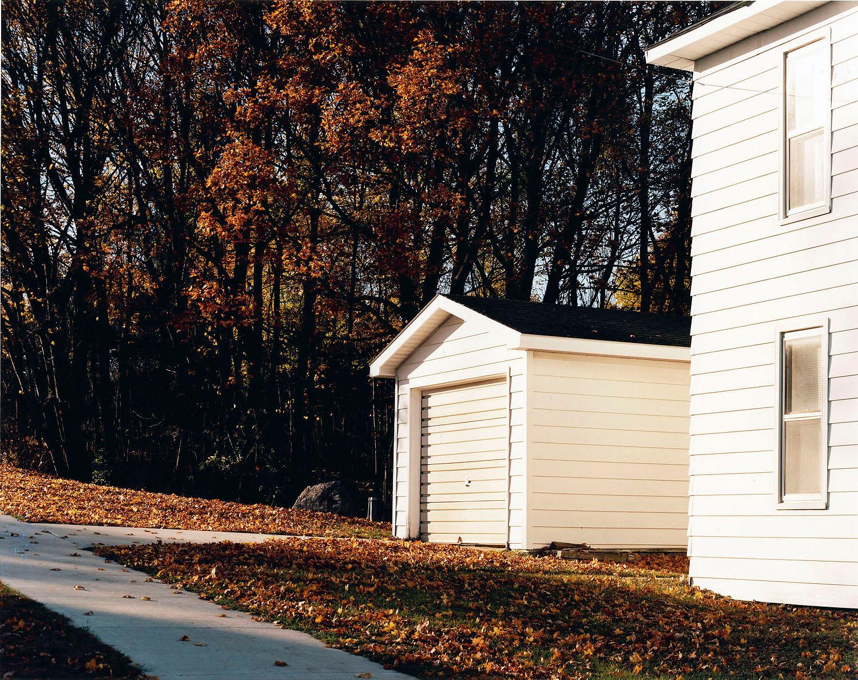 Sidewalk and Garage