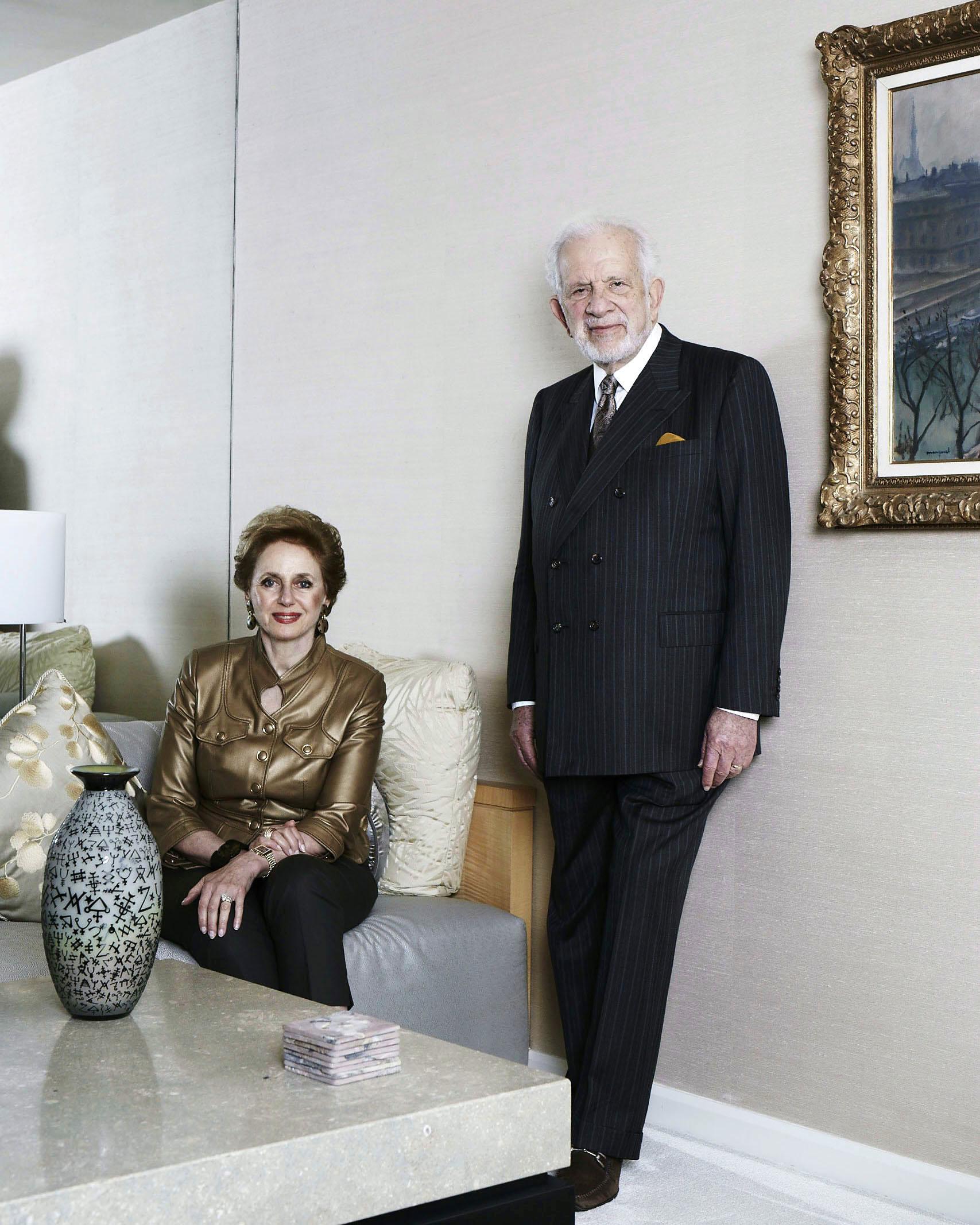 Georgette Bennette & Leonard Polonsky