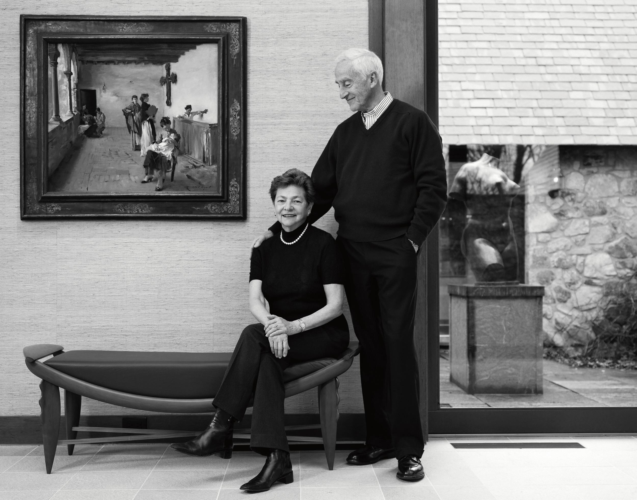 Roy & Diana Vagelos