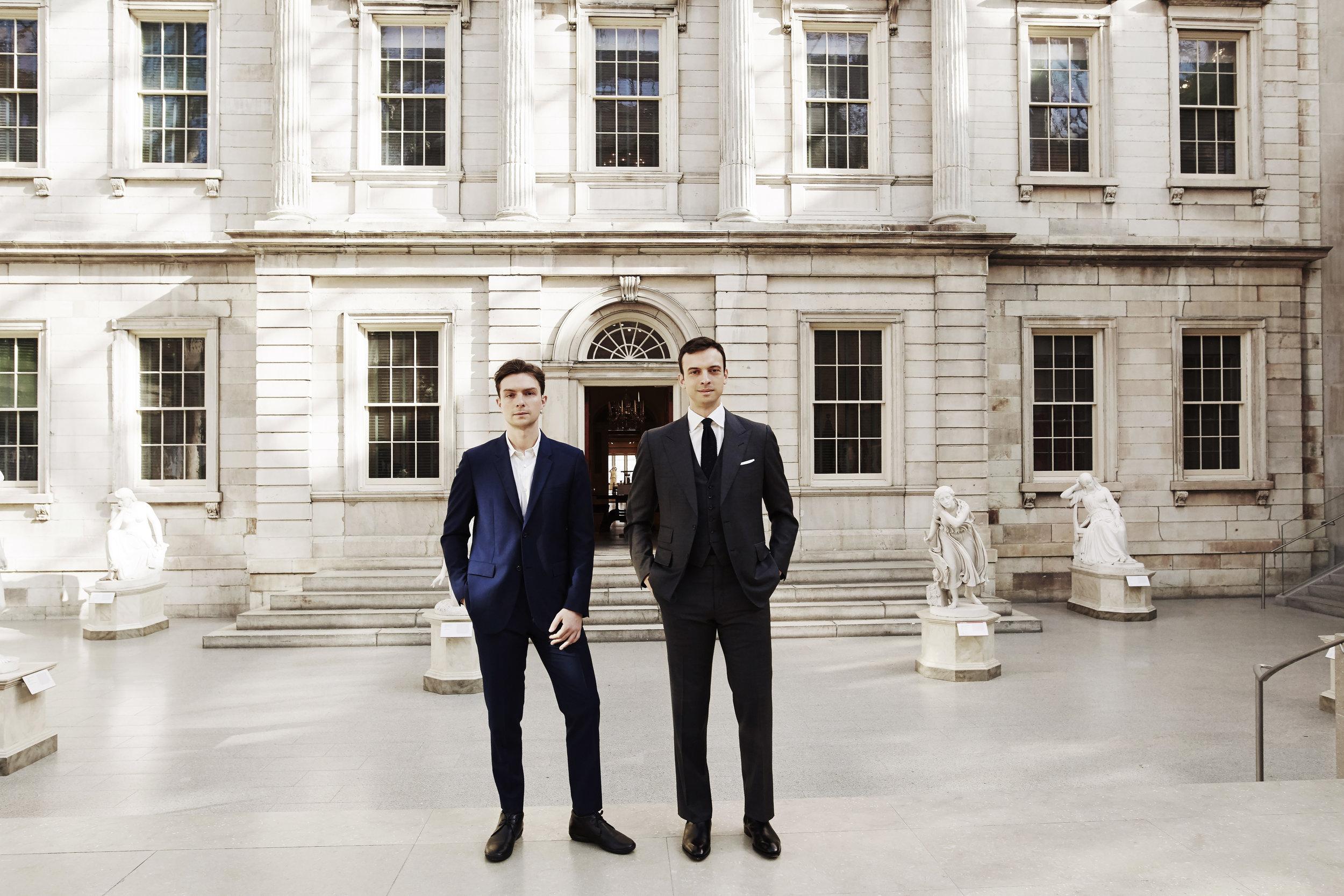 Noah & Eric Wunsch at the Met