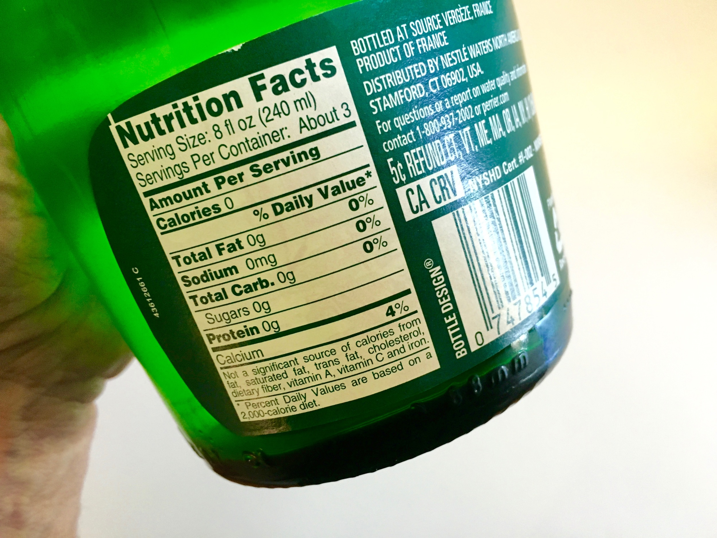 Nutrition Facts. Perrier.jpg