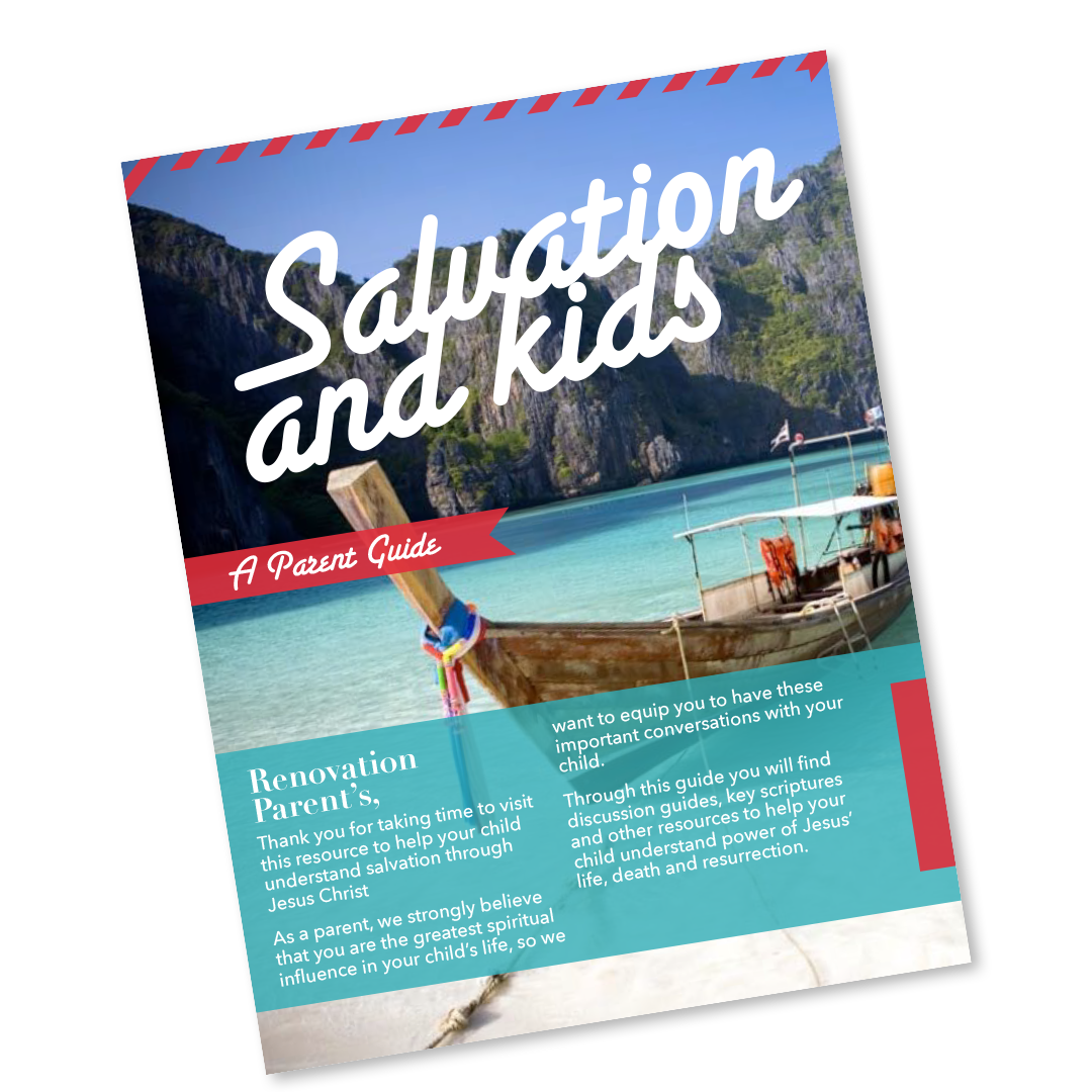 Salvation and Kids - A Parents Guide
