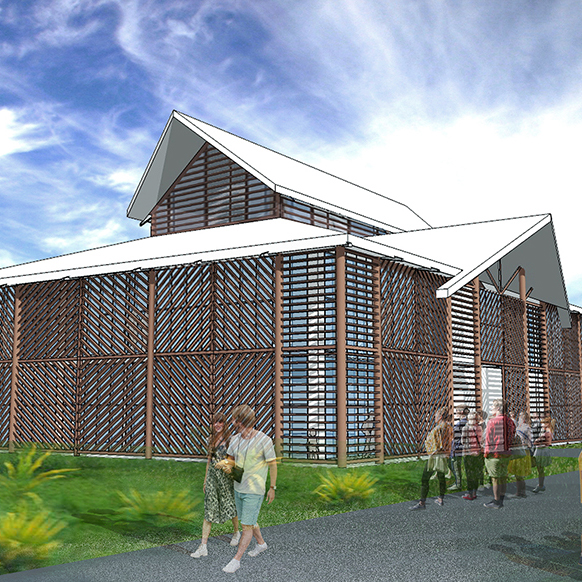 Samoa Hospital   S&T have designed 3 buildings for the Samoan Government as part of the SWAP program for improvement of Health Buildings in Samoa.