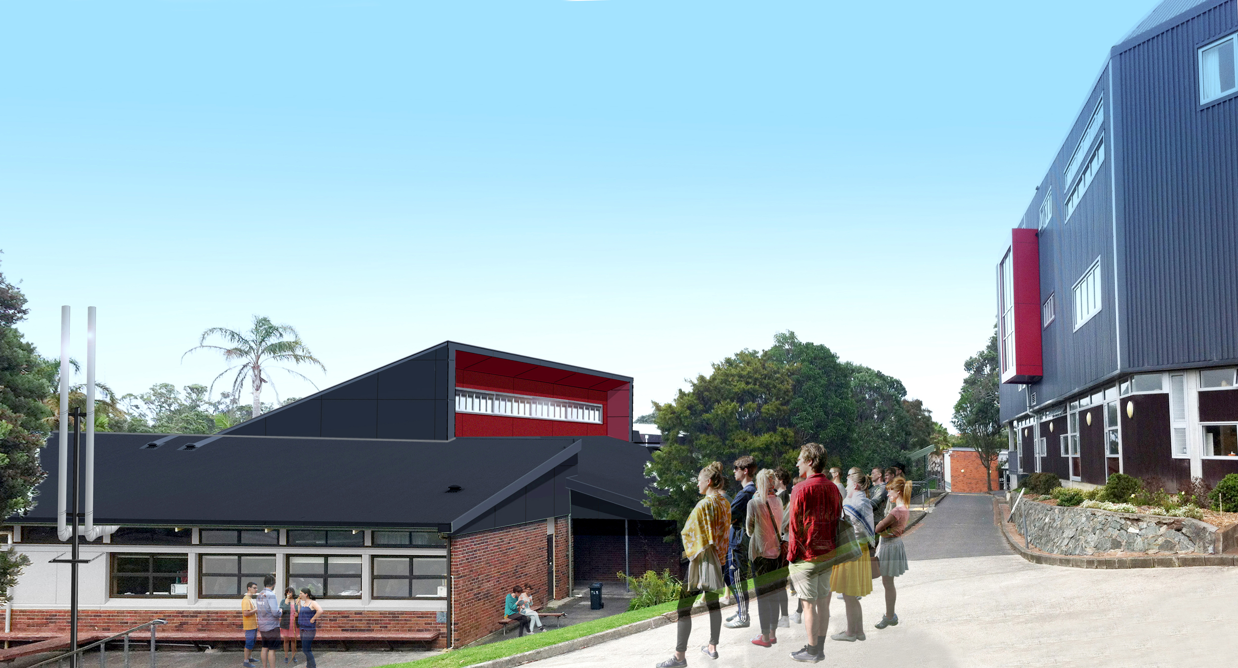 Takapuna Grammar    Special Needs Unit   S&T led two renovation projects for Takapuna Grammar on Auckland's North Shore. The projects are part of an $8M re-development project at the school which caters to more than 1600 students .