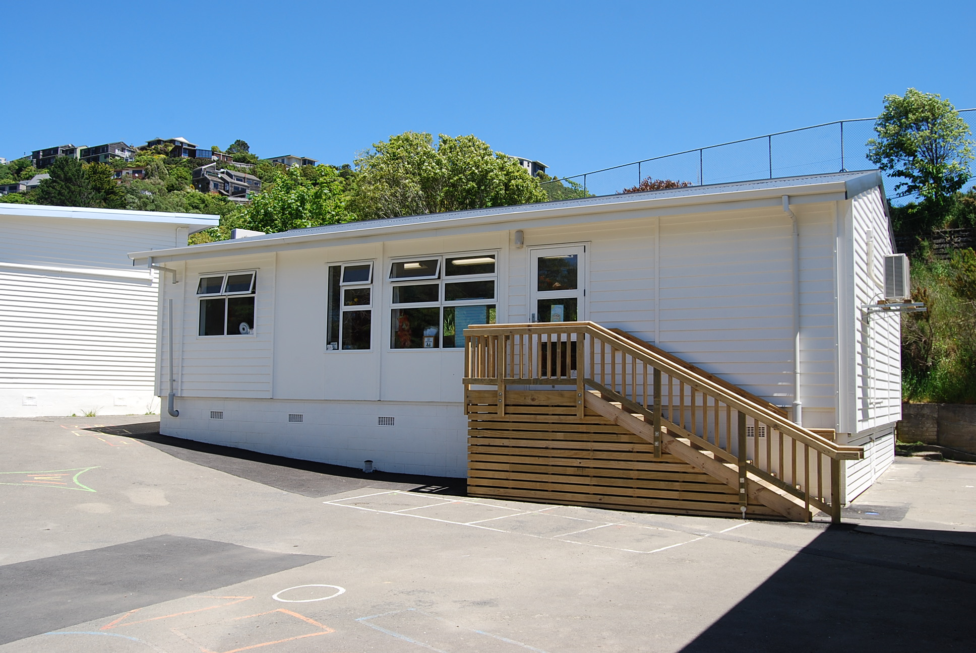 Catholic Schools Expansion Programme   S&T delivered the Catholic Schools Expansion Programme across nine sites. The project required the design, consent, fabrication and installation of a variety of classrooms and resource rooms within a five month period.