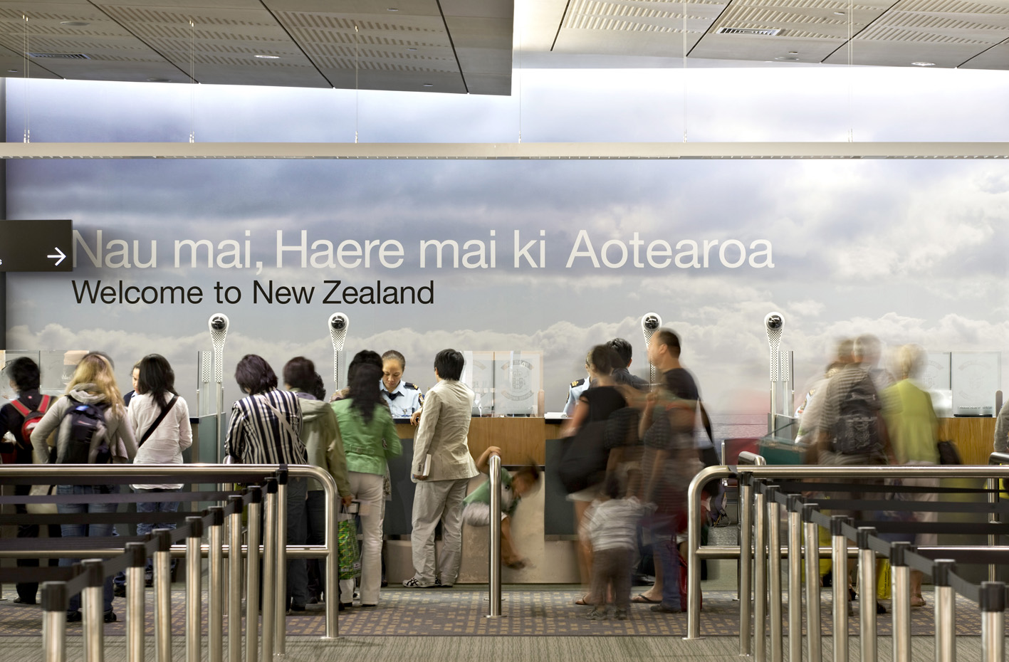Auckland International Airport Arrivals Expansion   S&T combined extensive planning and detail-conscious design to create the new 3A Arrivals area for international travellers.