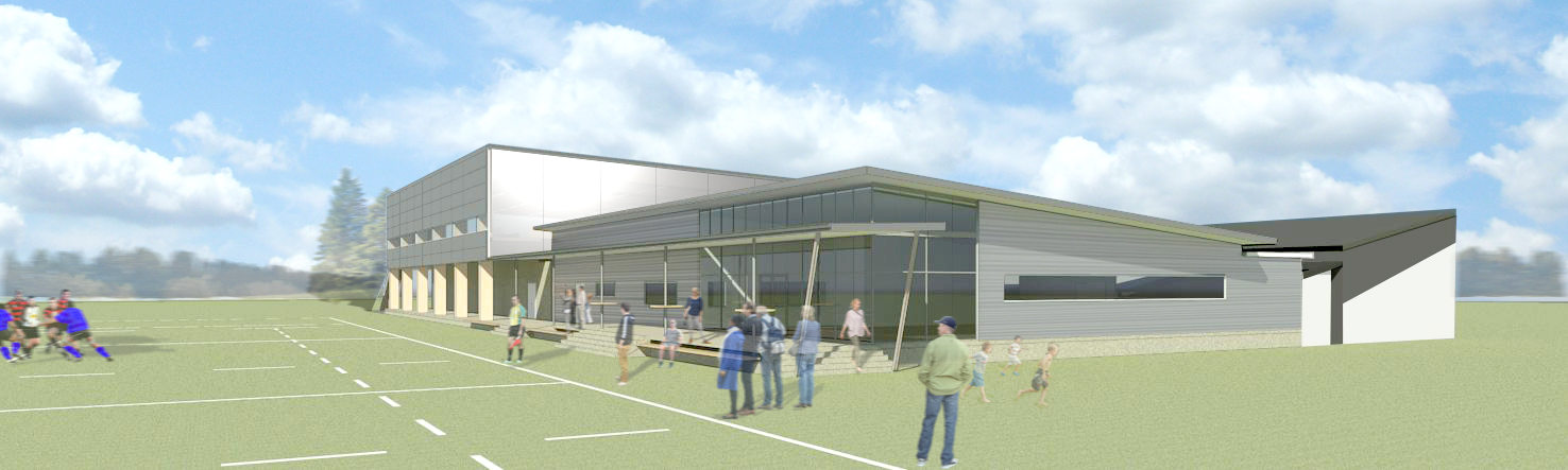 Rakaia Sports Centre, South Canterbury   S&T's design approach enabled the Rakaia community to further refine its brief and fundraise in a manner they were comfortable with. S&T looked beyond just design to come up with a building that suits the community's needs.