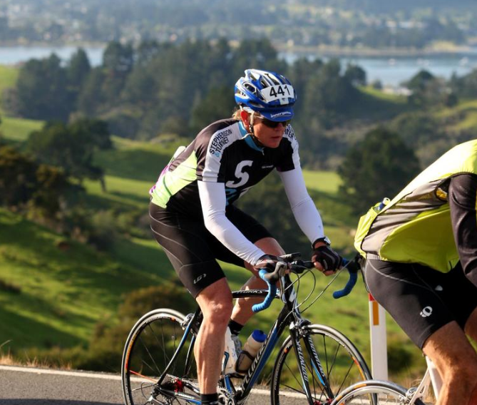 S&T Architect and avid cyclist, Paul Raven competing in the Taupo Bike Challenge