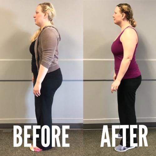 Sarah Lost 50 lbs. -
