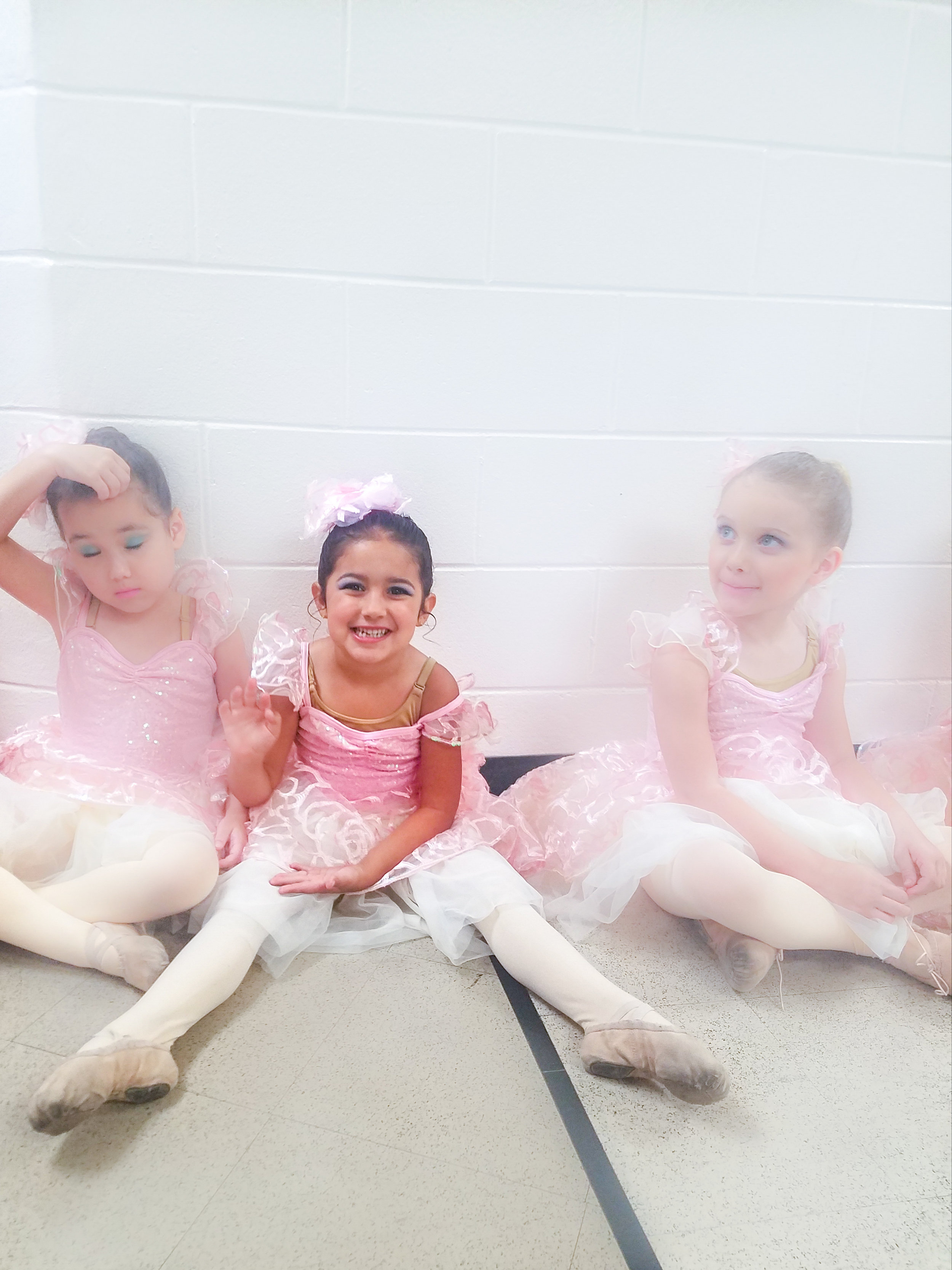 Waiting for her part in Beauty & The Beast. As a pre-professional school, RBO produces the most ballets annually, over any other local studio (many of them Disney themed - a total bonus for the kids!)