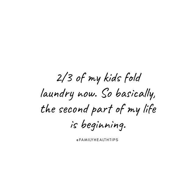*insert happy dance gif* - - - - - #startemyoung #kidswhoclean #notraisingassholes #livingthedream #motherhoodunplugged #momtruths #momstuff #momquotes #momjokes #meanmom #mombloggers #momof3 #laundryhacks #floridamom #orlandoblogger #orlandomoms #familyhealthtips
