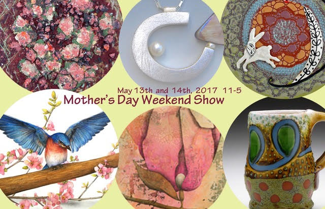 May 13th and 14th, 2017 art show and sale