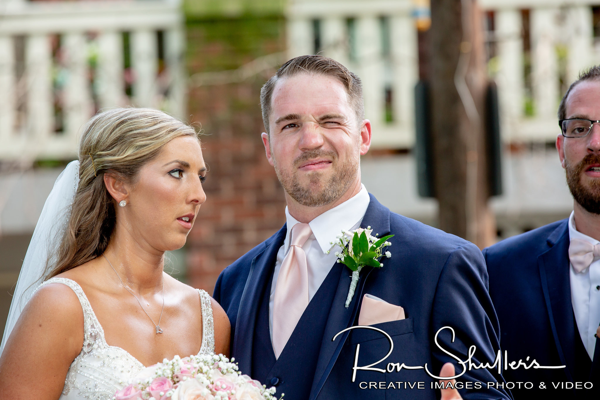 That face you make when you're over the heat, and your new husband's shenanigans.