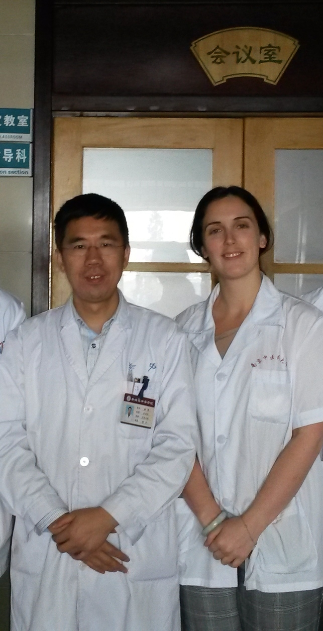 Dr. Xue and I