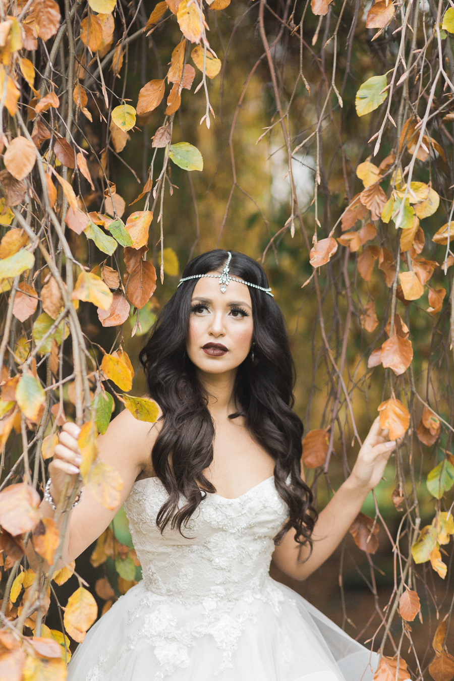 Make up: Jasmine Hoffman   Photo: Camilla Anchisi   Flowers: Flower Factory   Model:Gumboot Glam   Gown: Bisou Bridal   Jewellery: Jeweliette   Hair Styling: Cara Christensen  