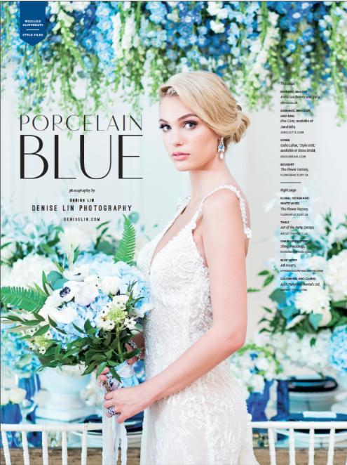 Blue Wedding Jewelry Vancouver Toronto Bride
