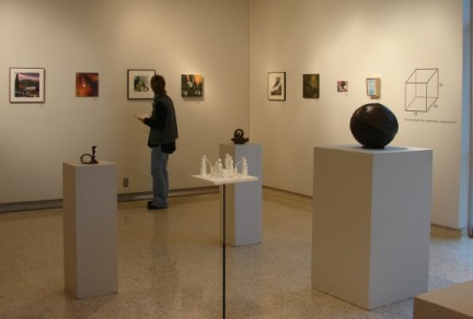 One Cube Exhibition, Ryan Fine Arts Gallery, McMurry University, Abilene, Texas - Photo by Victoria Taylor-Gore