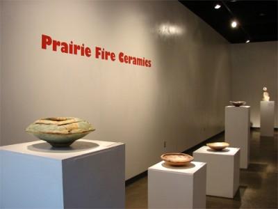 Prairie Fire Ceramics Exhibition in the Nancy Fyfe Cardozier Gallery at UTPB