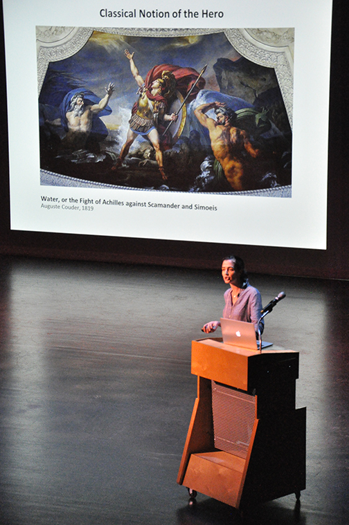 Felice house lecture - photo by rebecca dietz