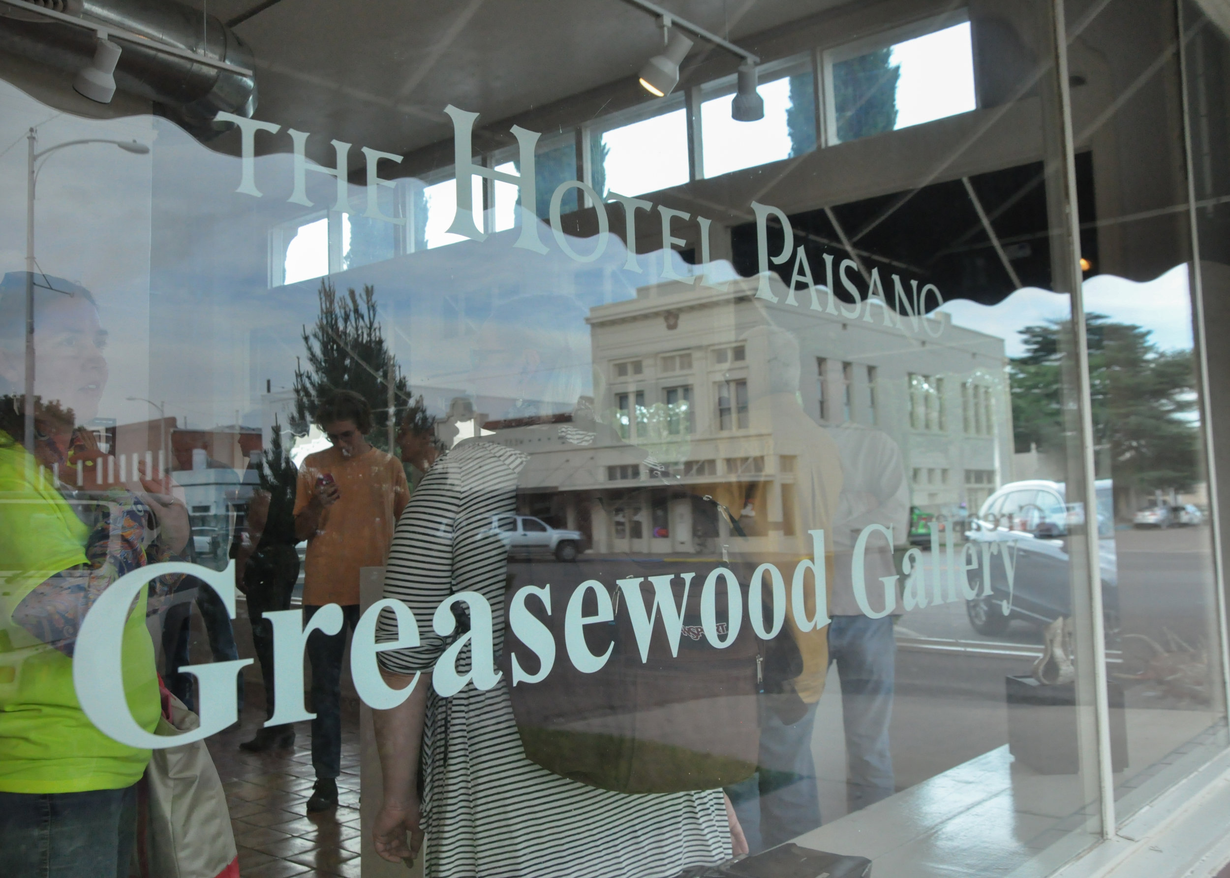 Greasewood Gallery - One Foot Exhibition