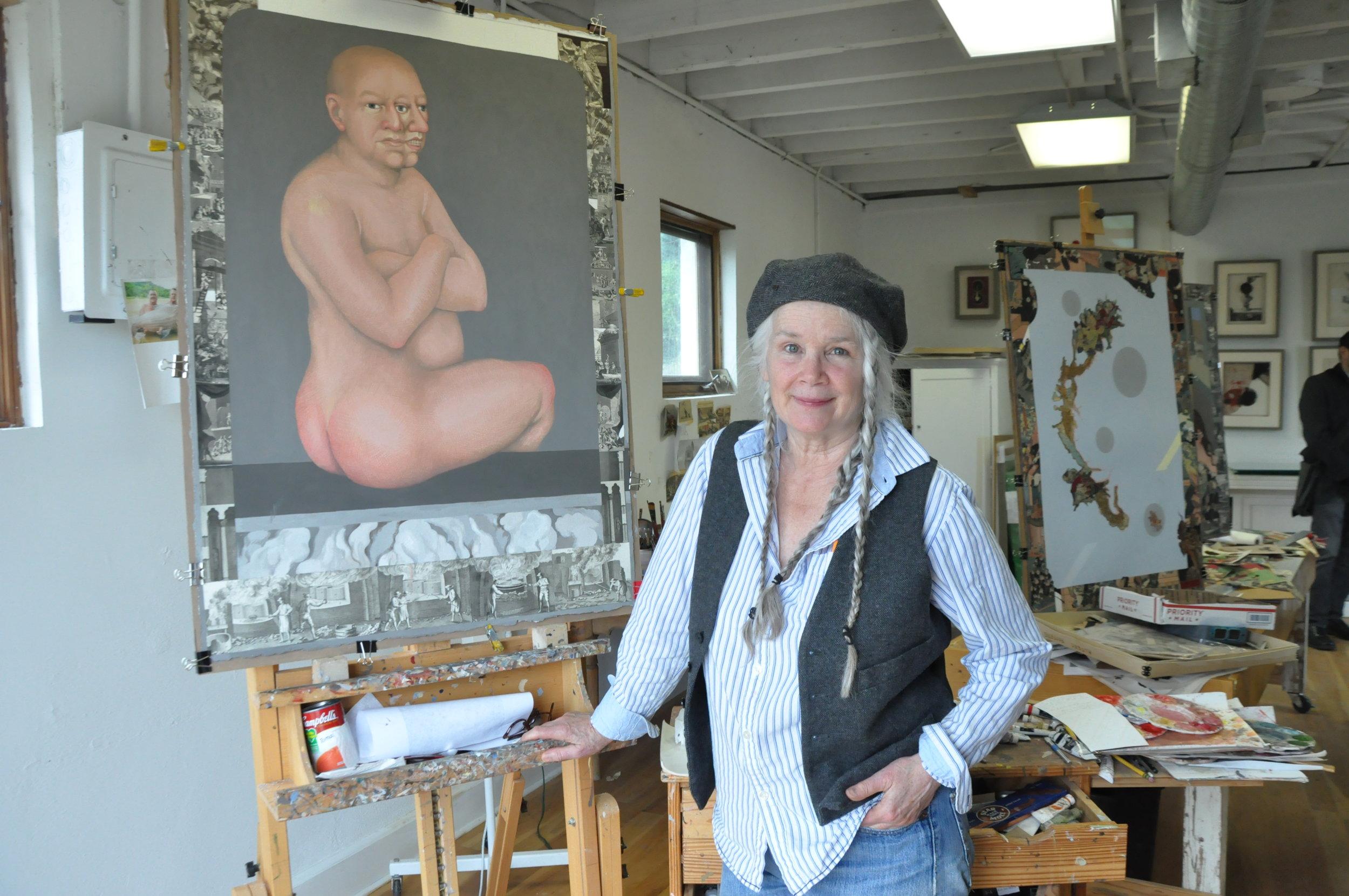 Julie Speed in her studio