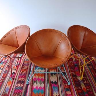 Garza Marfa Furniture and Textile Design featured in Architectural Digest