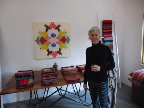 Leslie Wilkes, painter based in Marfa, represented by Kruger Gallery, Chicago