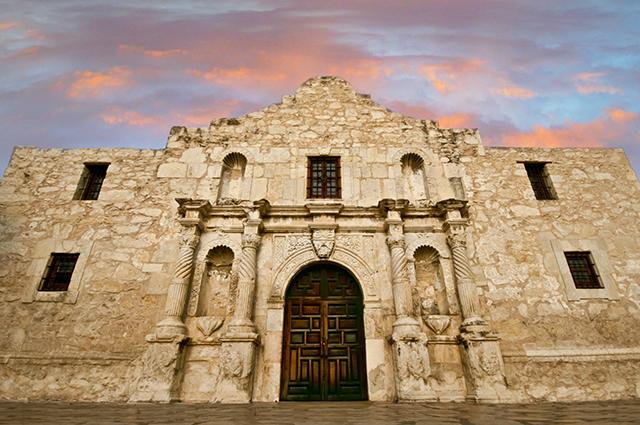 Alamo Looking Up, Visit San Antonio
