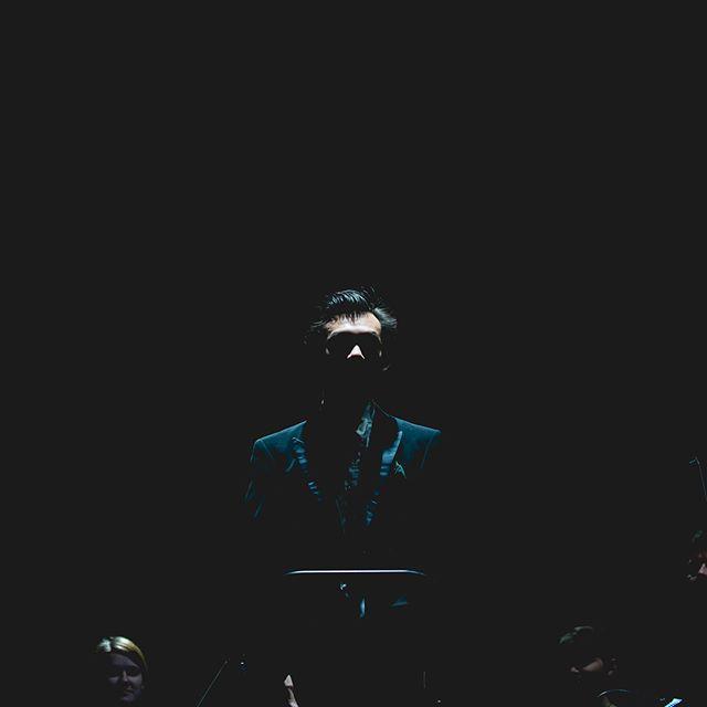 Conductor Chuhei Iwasaki during concert Prague Film Music . . . #concert #show #concertphoto #symphony #silhouette #livemusicphotography #musiclife #instamusic #mywork #music #audiolove #filmmusic #forumkarlin #bestconcertphotography #nikon