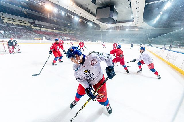 @narodnitym during training session between shooting the commercial in#tipsportarena . . . #sport #bts #commercials #redbull #gopro #sportphotography #adrenaline #hockey #hit #hockeyhits #bw #skating #iceskating #ice #hockeylife #hockeygame #hockeyteam #czechteam #czechhockey #czechhockeyteam #narodnitym #training #goal #nhl #nikon