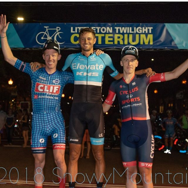Dust has settled on the weekend and I've been able to catch my breath (literally) and some sleep. Last minute flight to Colorado for @usacrits stop #8 for the Littleton Twilight Criterium. 3rd behind two guys that are on 🔥 at the moment. Thanks as always to my  @cyclus_sports team, especially @parkerkyzer who rode like he lived at altitude 😳. A special thank you to @boydcycling for letting me rip some sweet 60mm carbon clinchers wheels! Last but not least, the community that I miss a lot in Boulder was awesome to have out at the race. Wouldn't have been able to do it without y'all! P.C: @snowymountainphotography (#1,2) @brentmurphyphoto (#3)