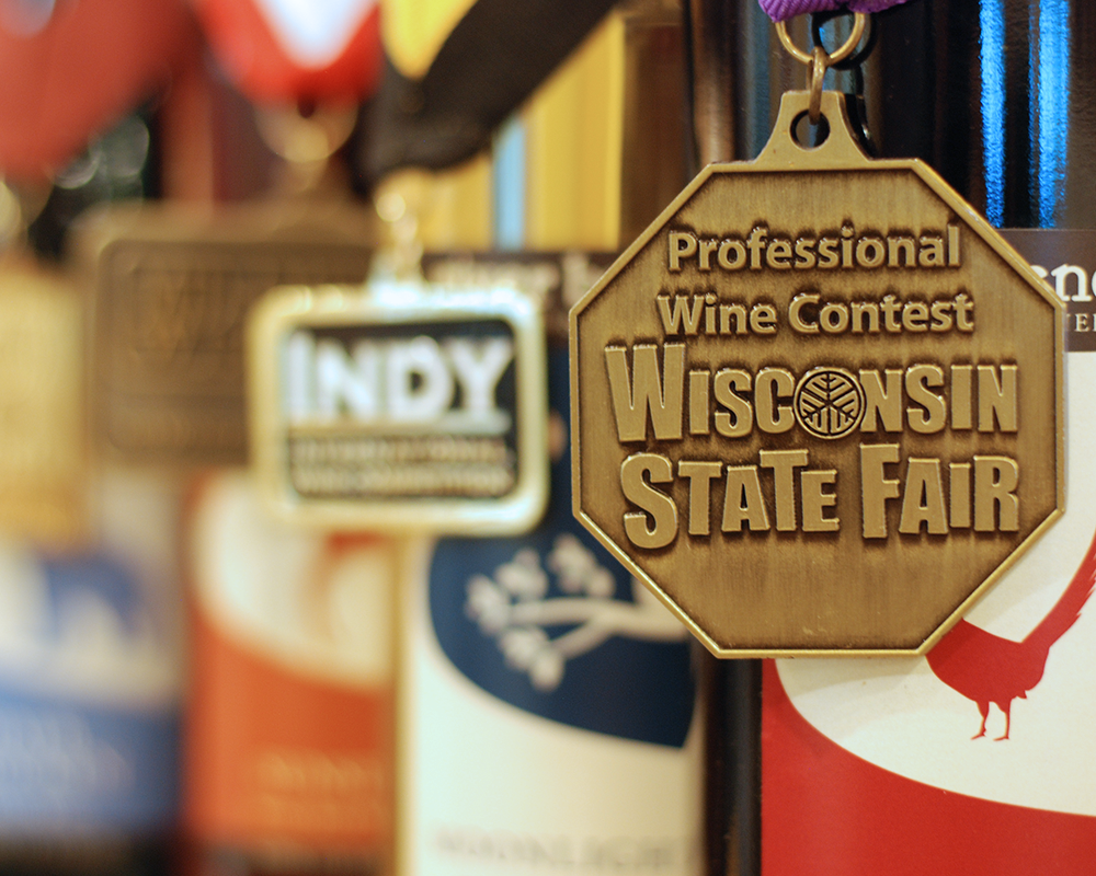 Some of the River bend wines to receive gold medals or higher