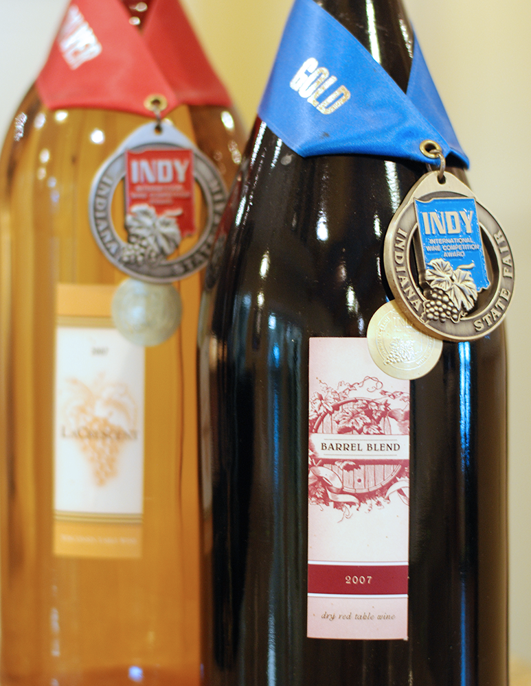 some amateur wines of the owners that won gold and silver medals.