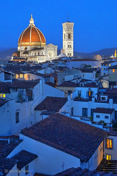 """IT200: """"Florence: Duomo at night"""""""
