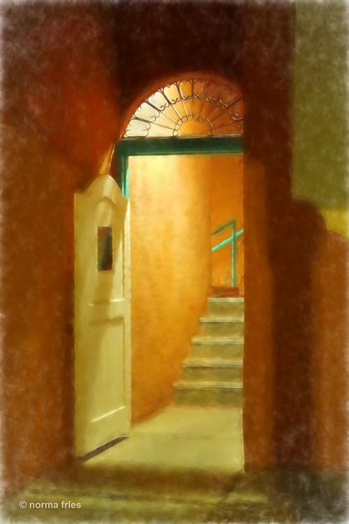 "TU712: ""Santa Fe: Night entrance"""
