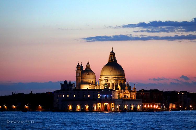 "IT230: ""Venice: St. Maria of Salute Basilica at night"""