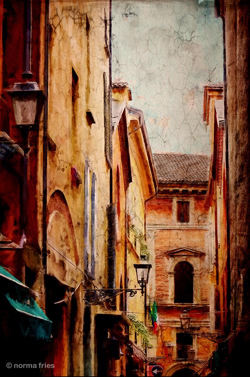 """IT280: """"Italy: Painterly street scene"""""""
