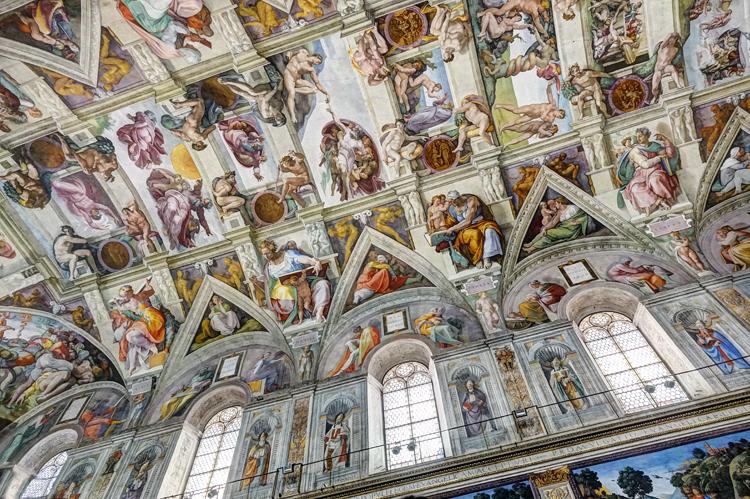 """IT255: """"Rome/Vatican: Sistene Chapel"""""""