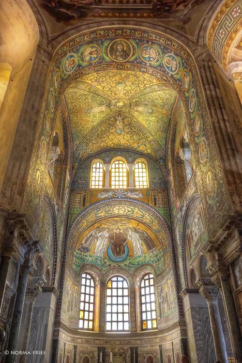 """IT289: """"Ravenna: Main arch, San Vitale Basilica"""""""