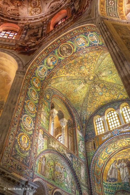 "IT290: ""Ravenna: San Vitale arch with dome"""