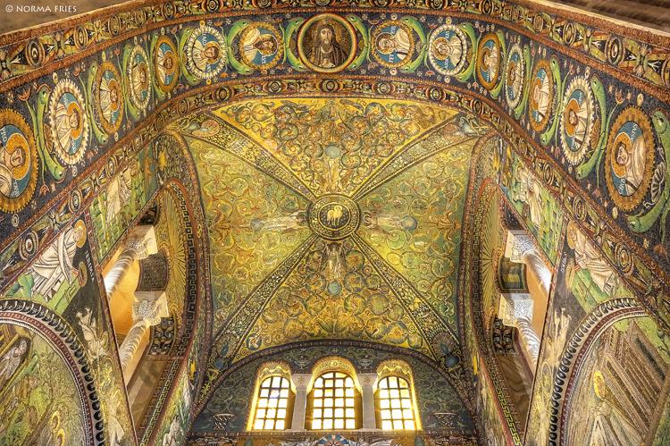 "IT291: ""Ravenna: main arch mosaics, San Vitale"""