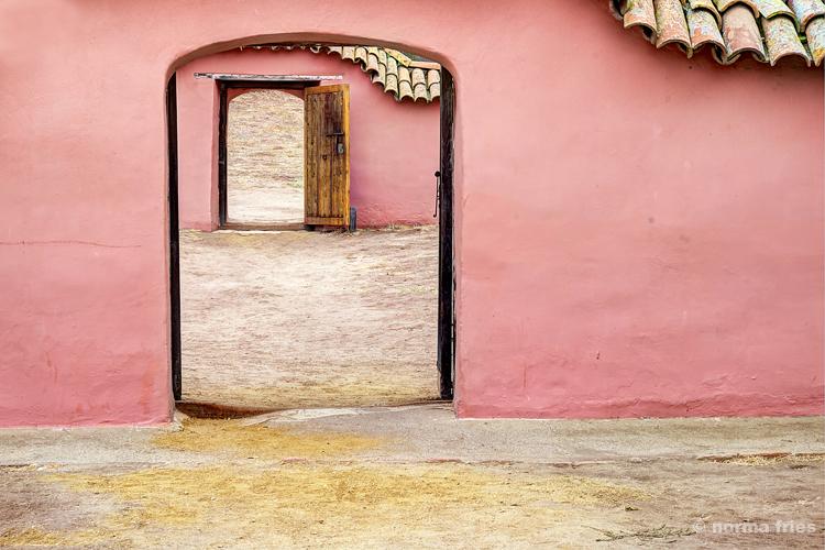"""CM423: """"La Purisima: Double portal"""" (color)"""