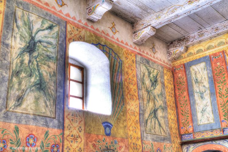 "CM426: ""Mission window & frescos"""