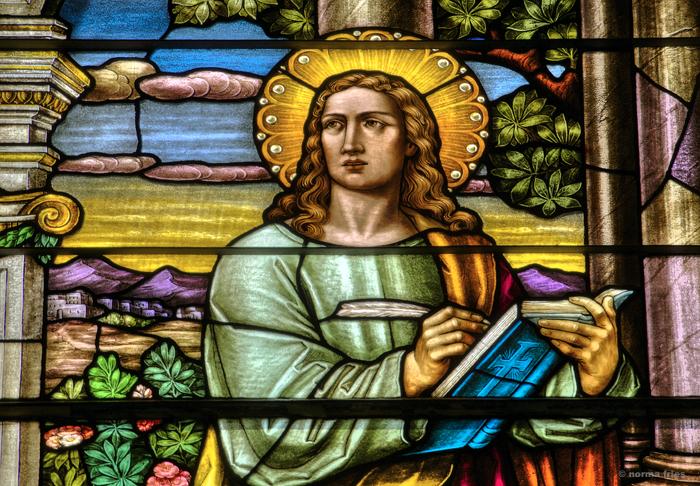 "BA507: ""St. Joseph Basilica: Gospel writer"""