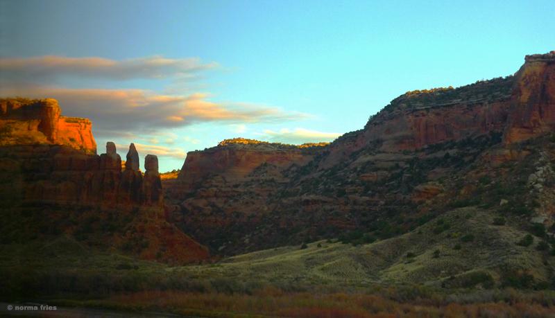 "LN921: ""Colorado sunset"""