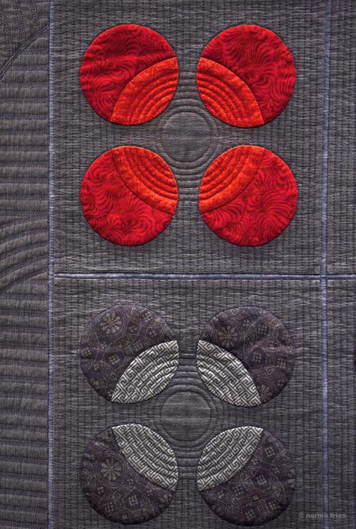 """XX1024: """"Quilt detail - Asian Zen"""""""