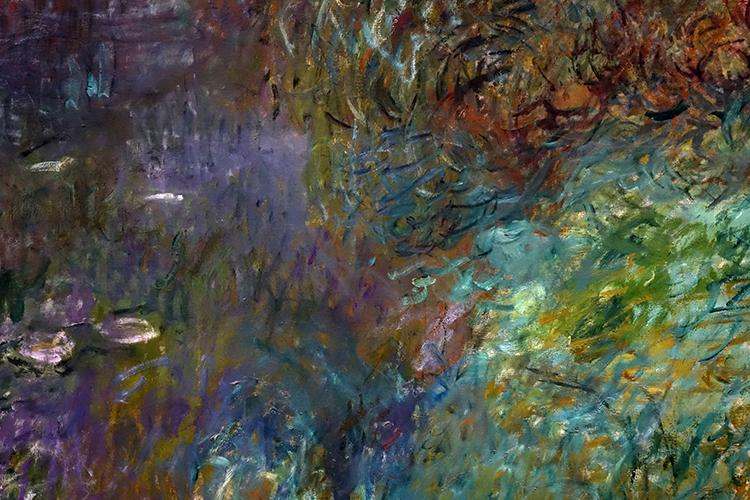 FR410 - Paris: Detail of Monet mural